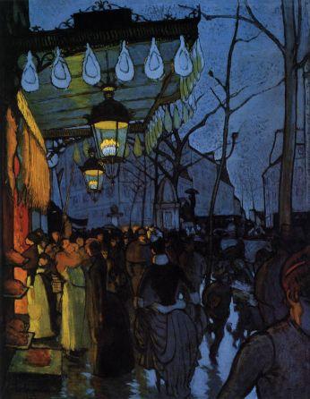 Louis Anquetin Avenue de Clichy: Five O'clock in the Evening