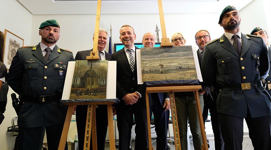 Stolen Van Gogh paintings found