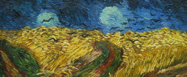Vincent Van Gogh S Last Painting Van Gogh Studio